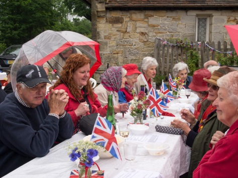 Markbeech Jubilee party