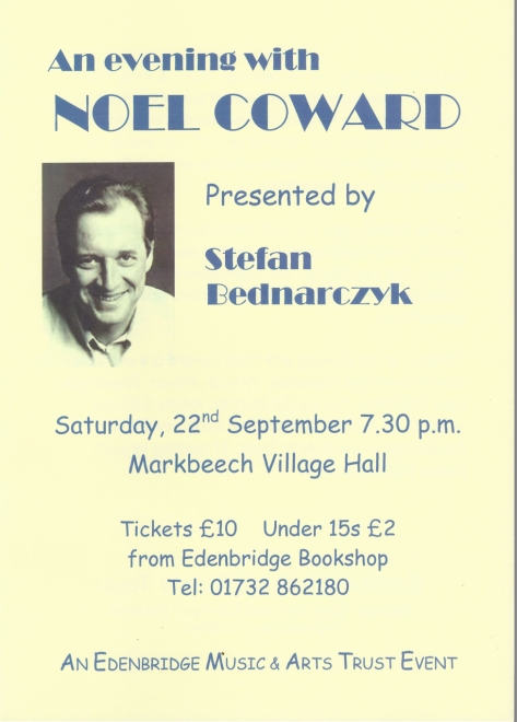 Noel Coward poster