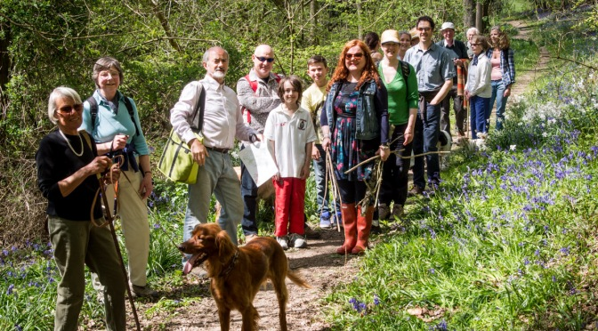 Beating the bounds – Rogation Sunday walk