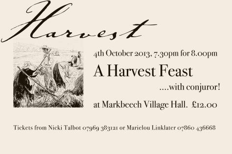 Harvest feast 2013