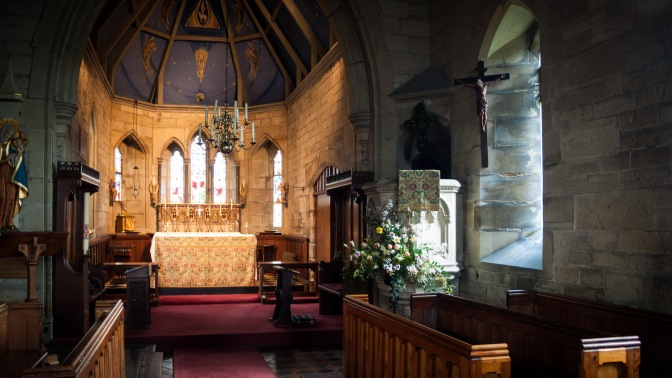 Open church – a place for contemplation