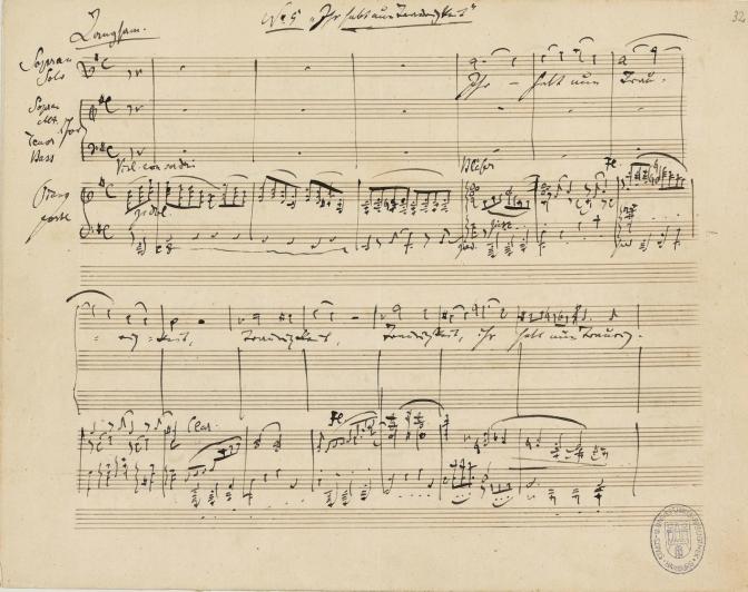 Brahms Requiem at Sevenoaks School