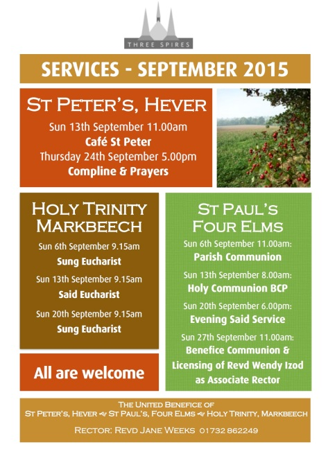 1509 Benefice poster