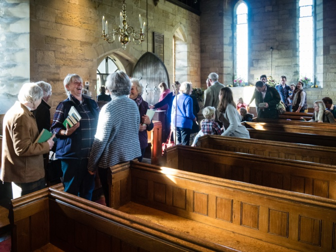 23rd April – 9:15am at Markbeech and the visit of Bishop Tom Frame