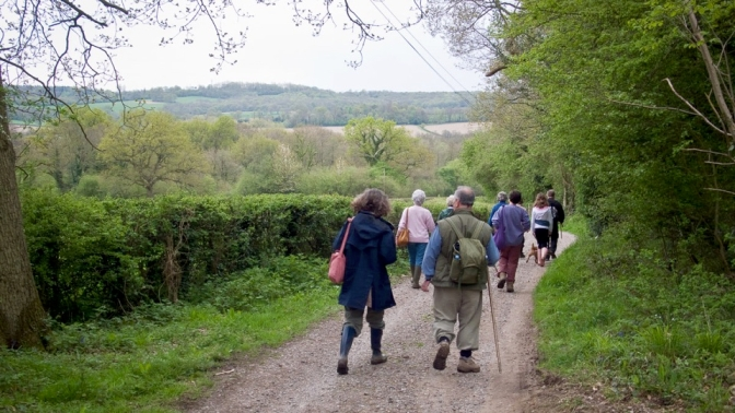 Rogation Sunday Walk