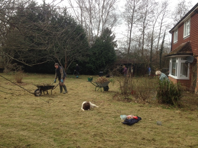 Rectory Garden Tidy Up