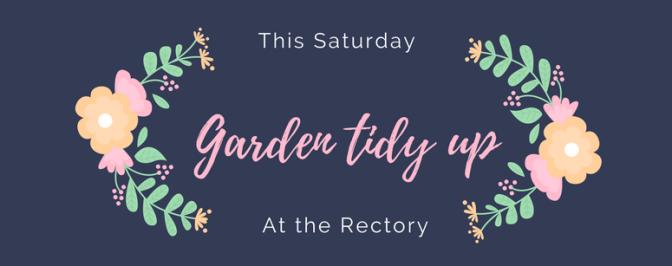Rectory garden working party