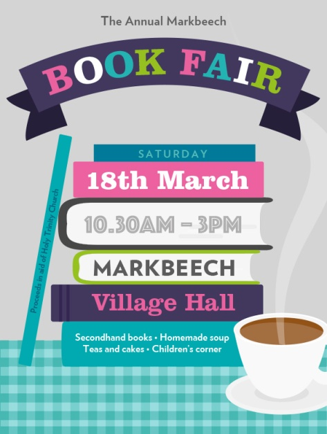Markbeech Book Fair fb image color