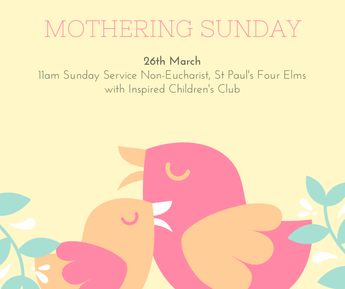 Mothering Sunday