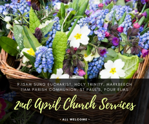 2nd April services