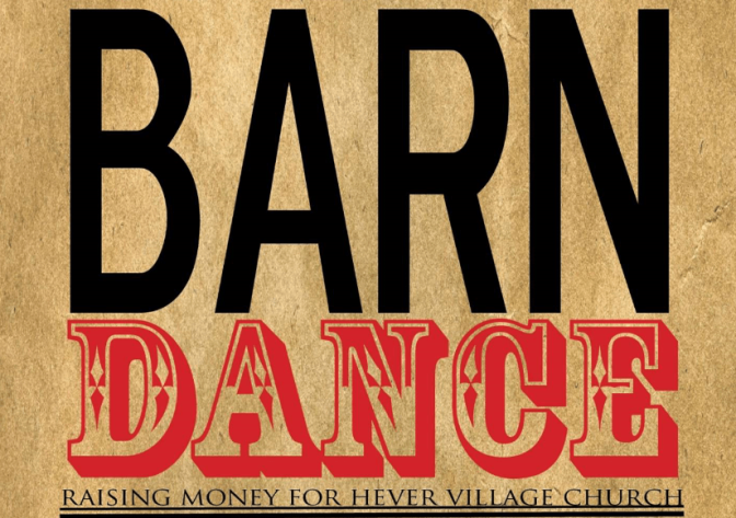 HEVER BARN DANCE 2nd SEPTEMBER