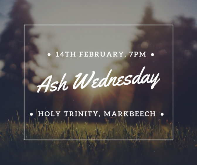 Ash Wednesday 7pm Service