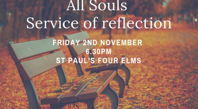 All Souls Service of reflection