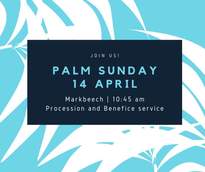 Palm Sunday Procession & Service