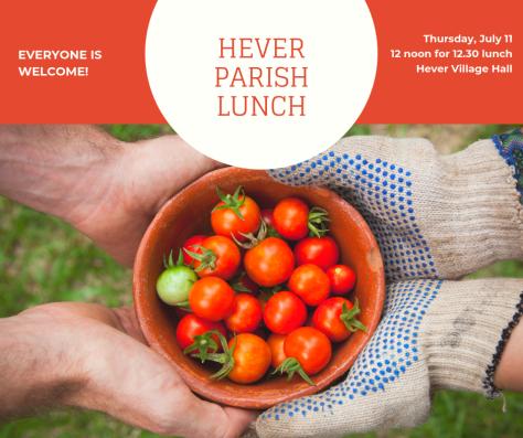 Hever Parish lunch July