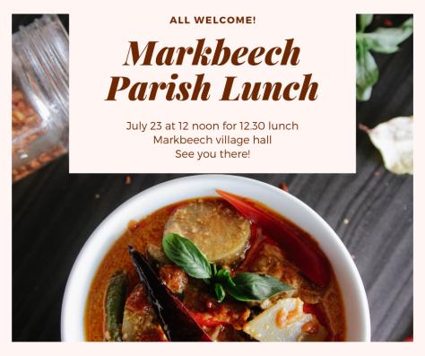 Markbeech Parish Lunch July